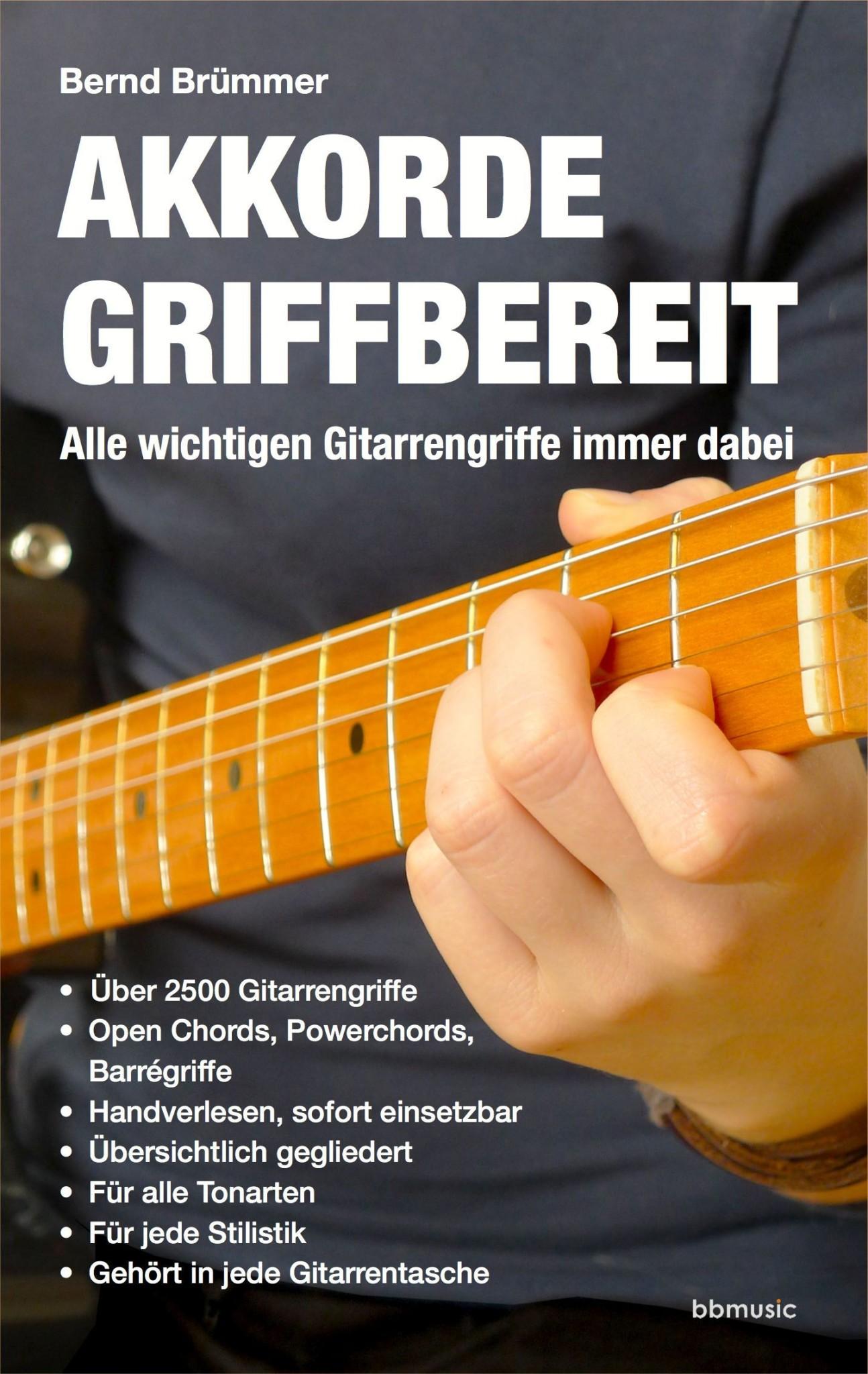 Akkorde griffbereit - Alle wichtigen Gitarrengriffe