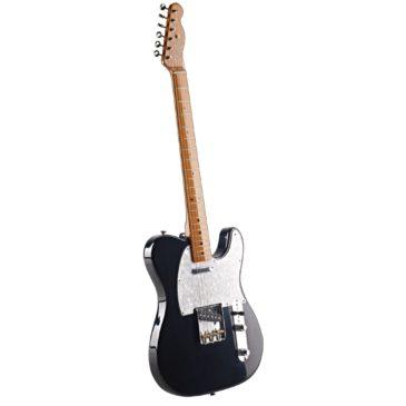So heißen die Teile einer E-Gitarre (Foto mit Bezeichnungen)