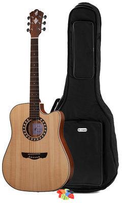 Brümmer Acoustic CLD-10SC Bundle – Westerngitarre